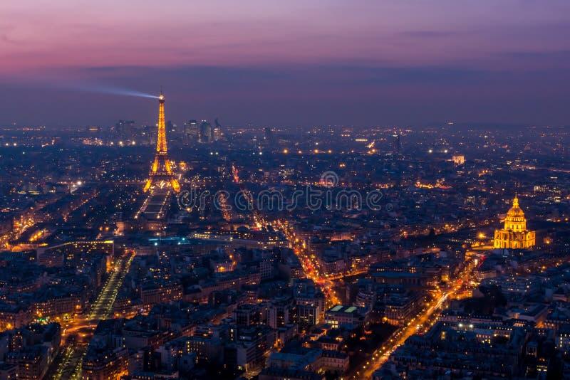 Paris aérien - 1283 images libres de droits