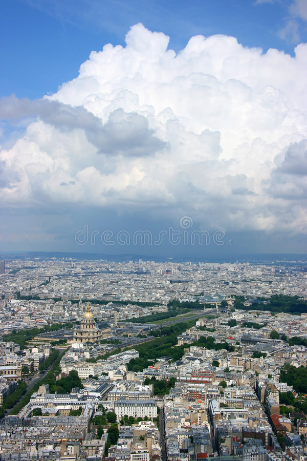 Download Paris Aerial Stock Photography - Image: 5333202
