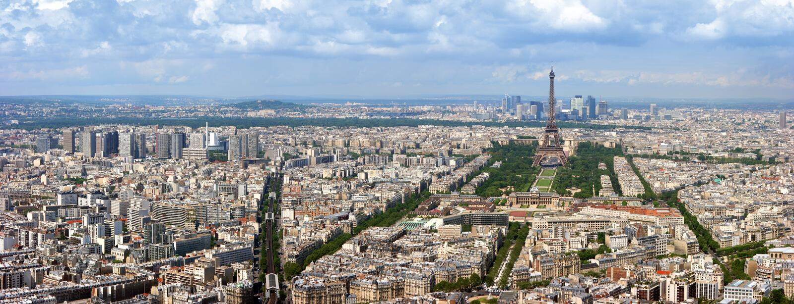 Download Paris aerial panorama stock photo. Image of metropolitan - 6283928
