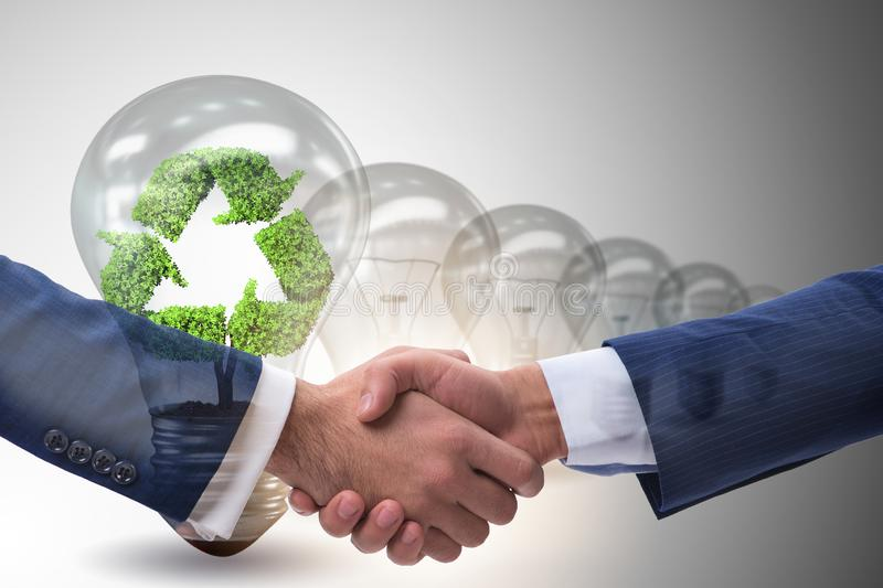 Paris agreement concept in ecology and environment. Paris agreement concept in the ecology and environment royalty free stock photography