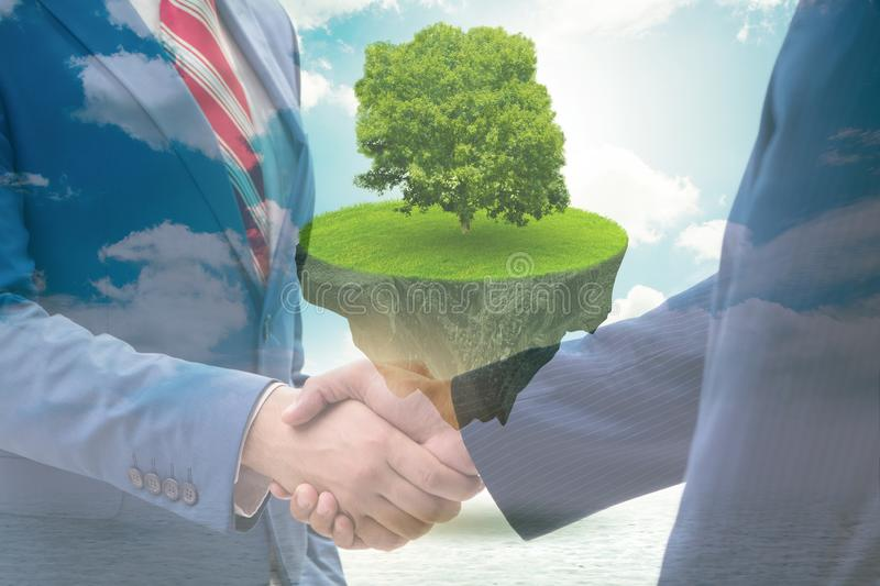 Paris agreement concept in ecology and environment. Paris agreement concept in the ecology and environment royalty free stock photo