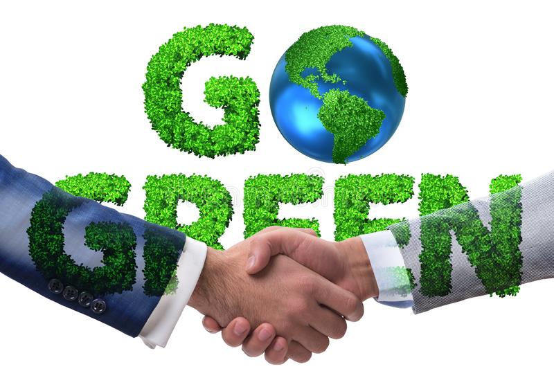Paris agreement concept in ecology and environment. Paris agreement concept in the ecology and environment stock photography