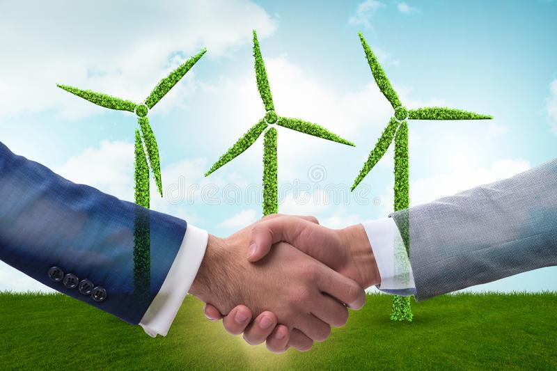 Paris agreement concept in ecology and environment. Paris agreement concept in the ecology and environment stock photos