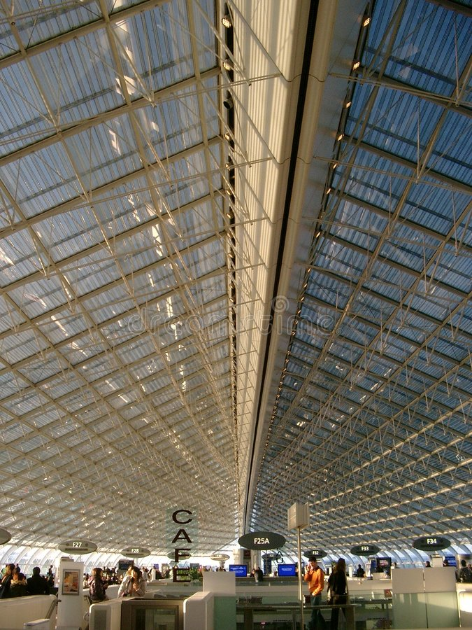 Download Paris airport stock photo. Image of modern, gate, roissy - 2442408
