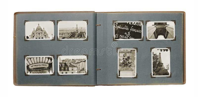 Paris Album Royalty Free Stock Photography