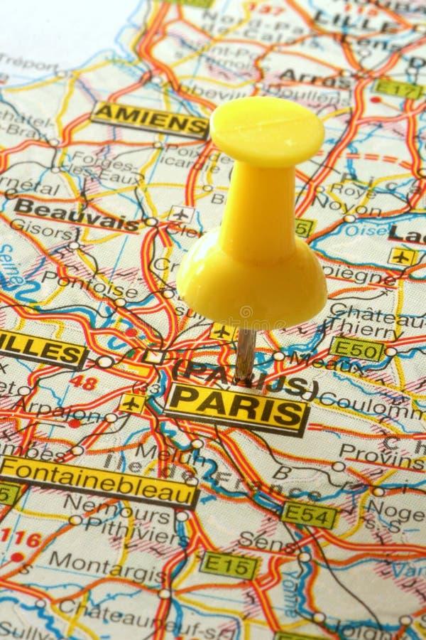 Paris allant à photographie stock libre de droits