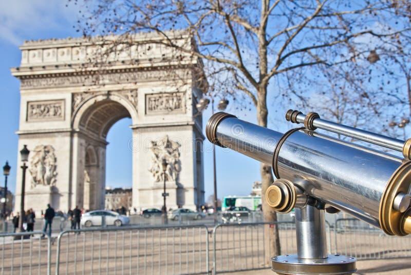Download Paris - Arc De Triomphe Royalty Free Stock Photo - Image: 23430635