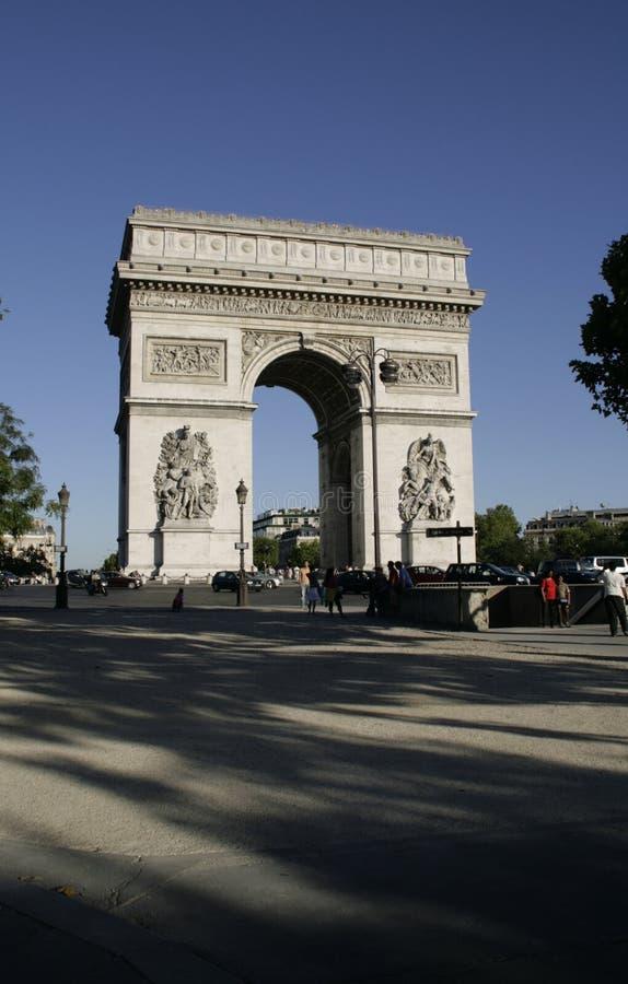 Paris. Arch de Triumph. stockfotografie