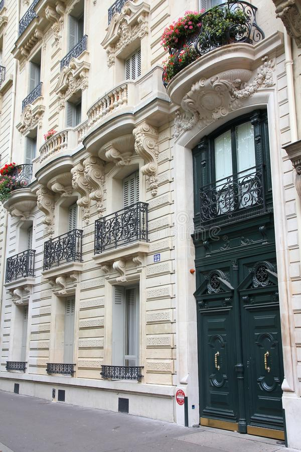Paris architecture royalty free stock photography