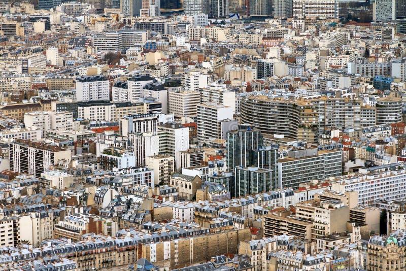 Paris arkitektur arkivfoto