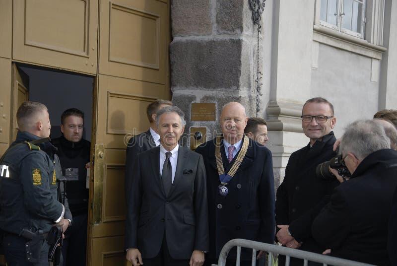 PARIS ATTACKED_ROTARY DENMARK_FRENCH AMBASSADOR. Copenhagen/Denmark/ _ 18th November 2015 _Francios Zimeray french ambassador to Denmark welomes Rotary Danmark stock images