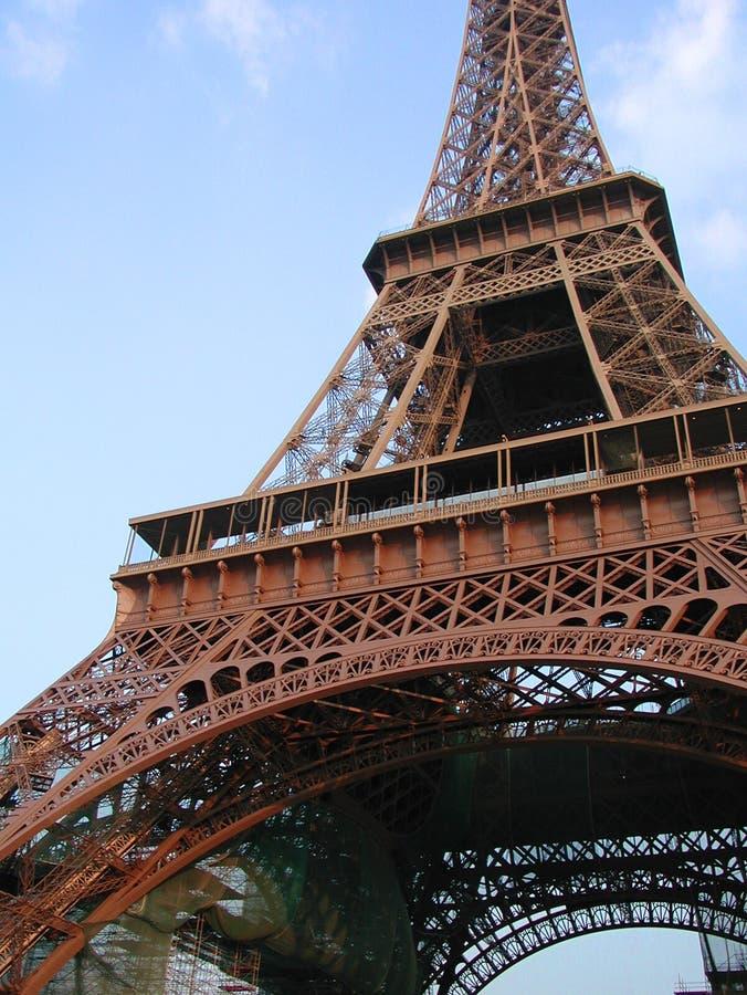 Paris - Ausflug Eiffel stockfoto