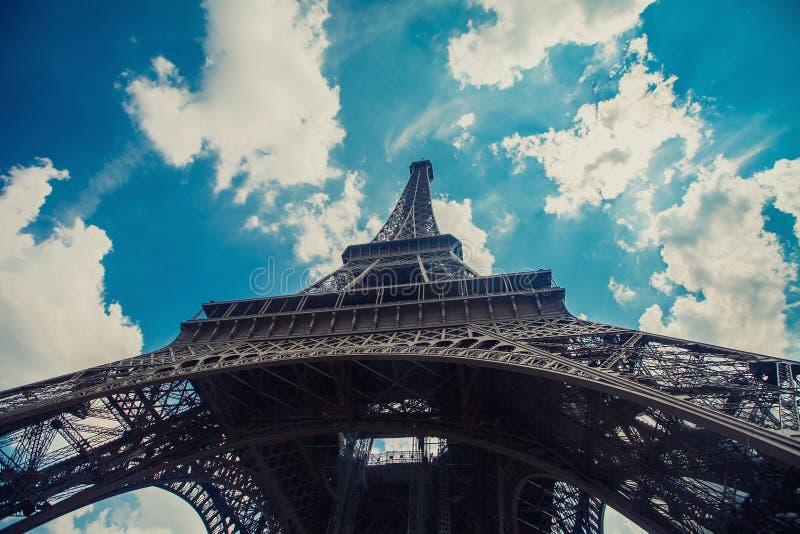 Paris bästa destinationer i Europa royaltyfri bild