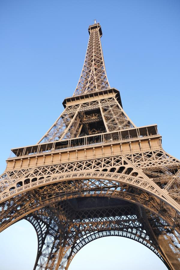 Paris bästa destinationer i Europa fotografering för bildbyråer