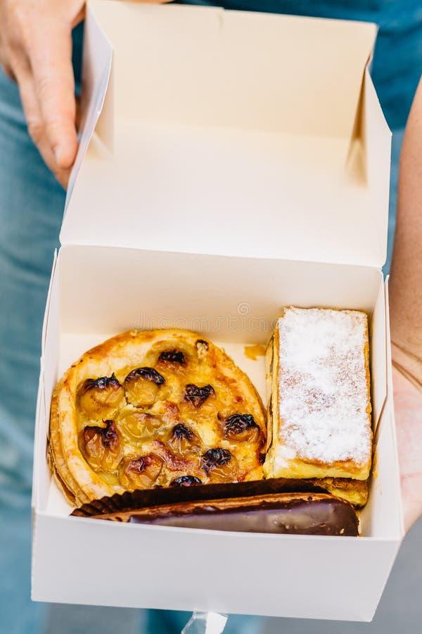 Paris bageri royaltyfri fotografi
