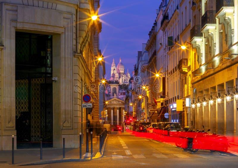 paris Basílica Sacre Coeur foto de stock