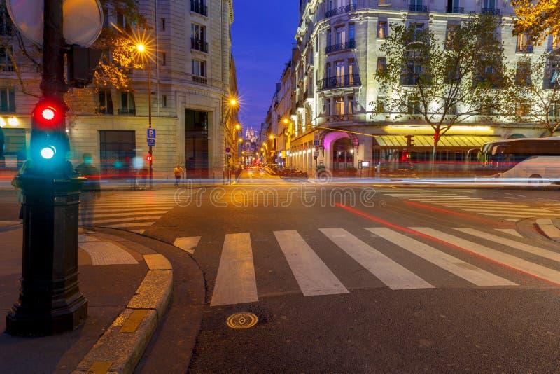 paris Basílica Sacre Coeur imagem de stock royalty free