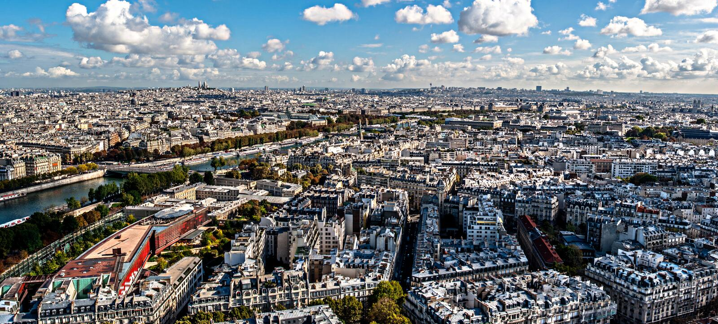 Paris, beautiful Paris stock photo