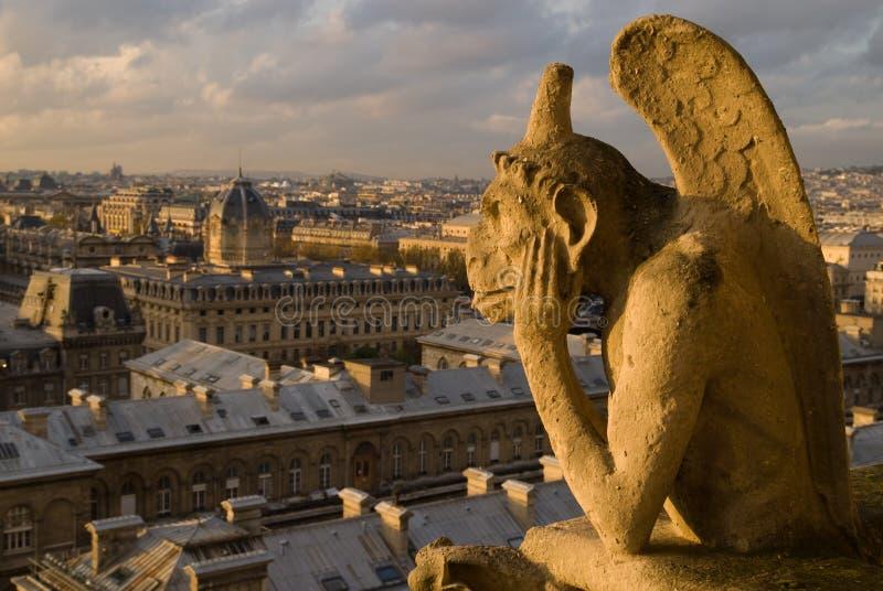 Paris Chimera stock images