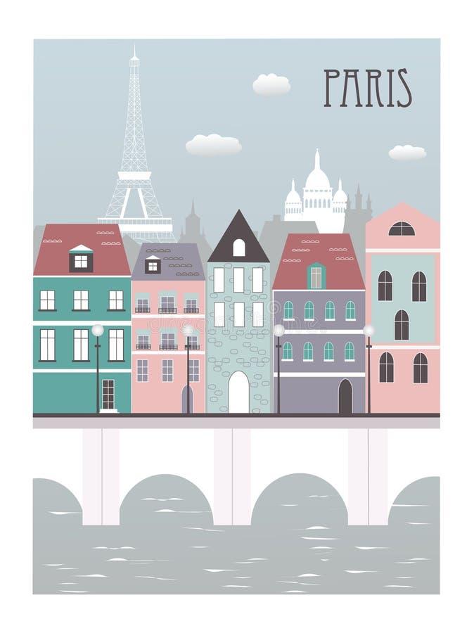Download Paris city. stock vector. Image of length, arch, eiffel - 28641642
