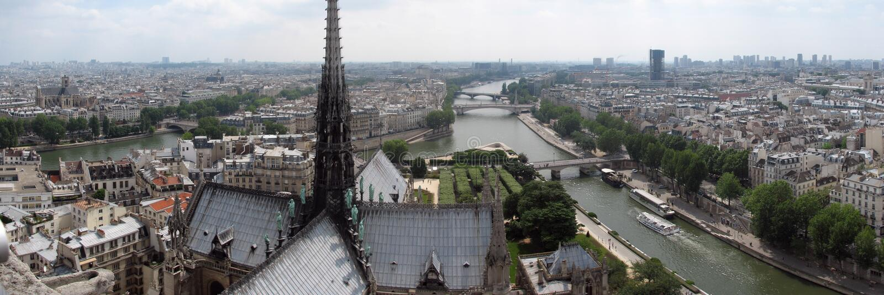 Paris city stock photo