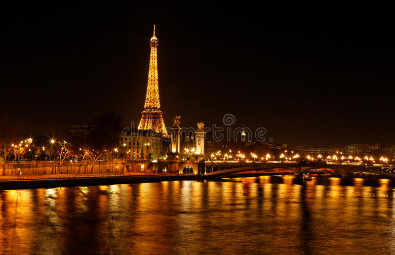 Paris - The City Of Light Editorial Photo
