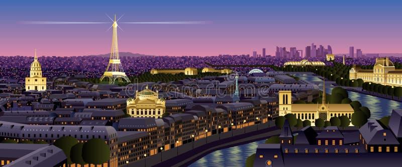 Paris royalty free illustration
