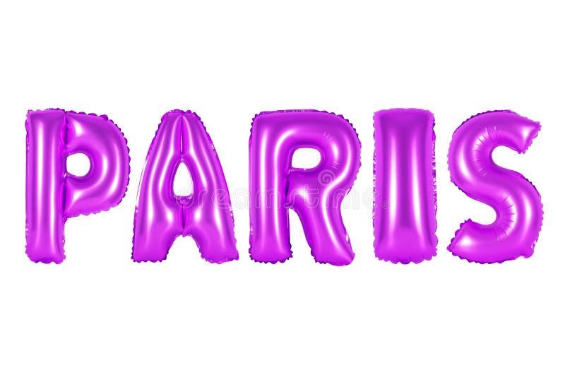 Paris, cor roxa fotos de stock