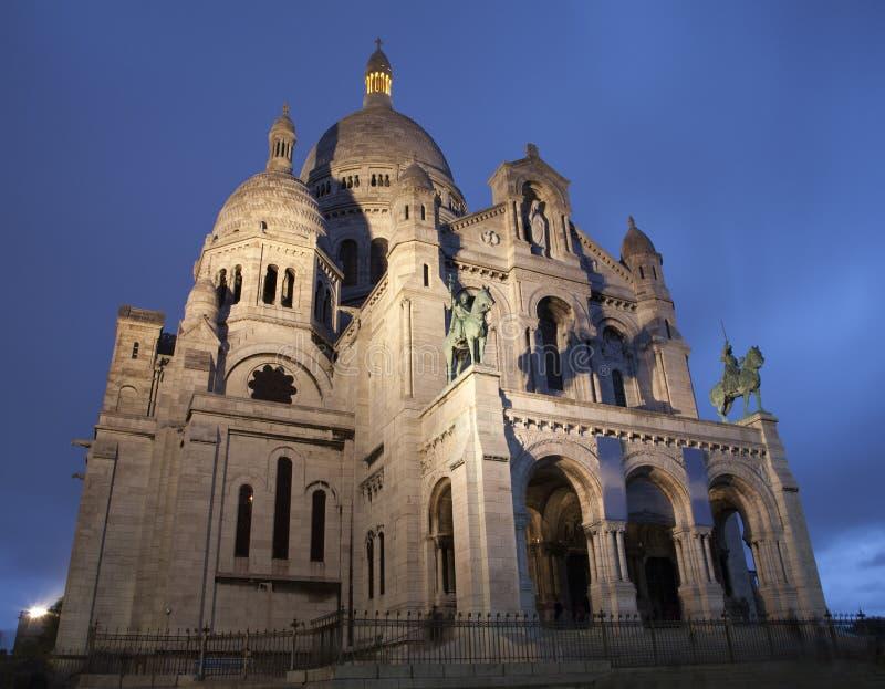 Paris - couer de Sacre de basilique image stock