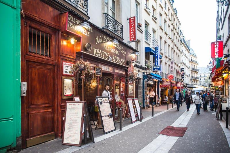 Paris de um quarto latino fotos de stock