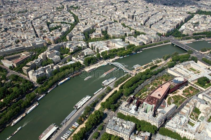 paris duńskich rzeki fotografia royalty free