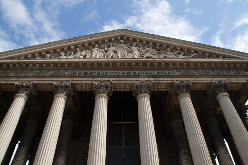 Paris-Eglise DE La Madeleine royalty-vrije stock foto