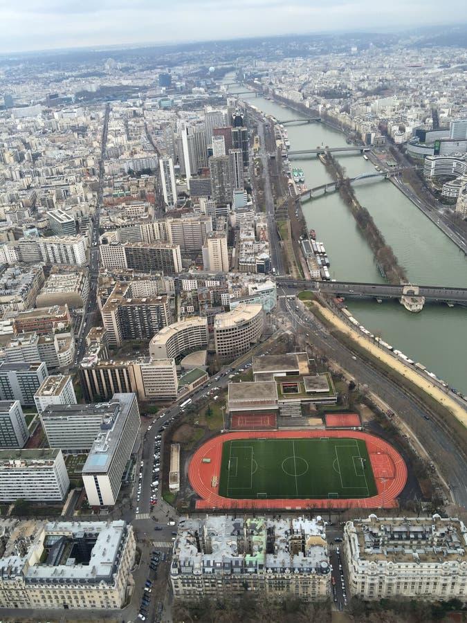 Paris Eifel torn arkivbilder