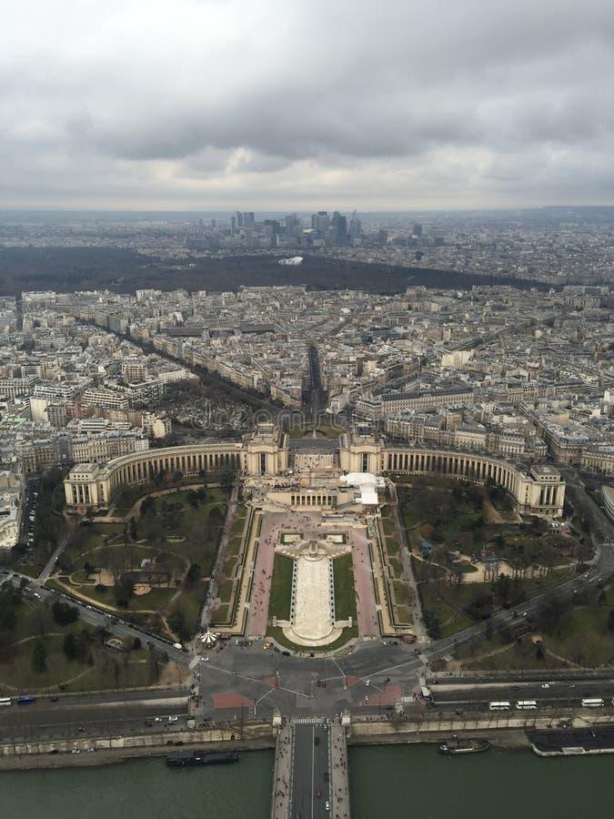 Paris Eifel torn royaltyfria foton