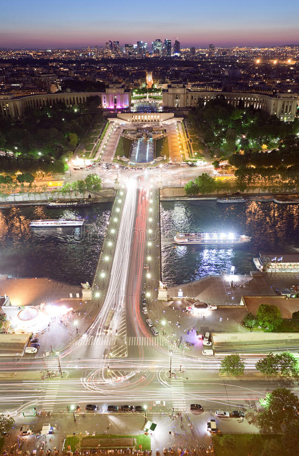 Download Paris from Eiffel Tower stock image. Image of cinema - 13249719