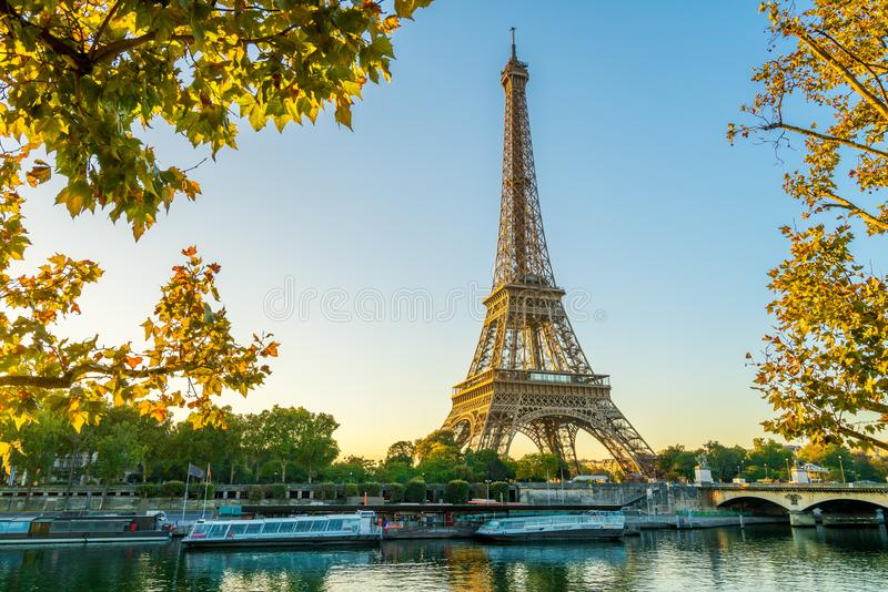 Paris Eiffel Tower, France royalty free stock photo