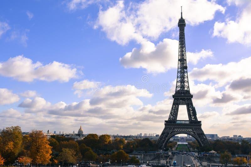 Paris - Eiffelturm lizenzfreie stockfotografie