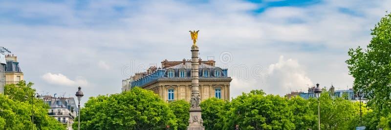 Paris, endroit du Chatelet photos libres de droits