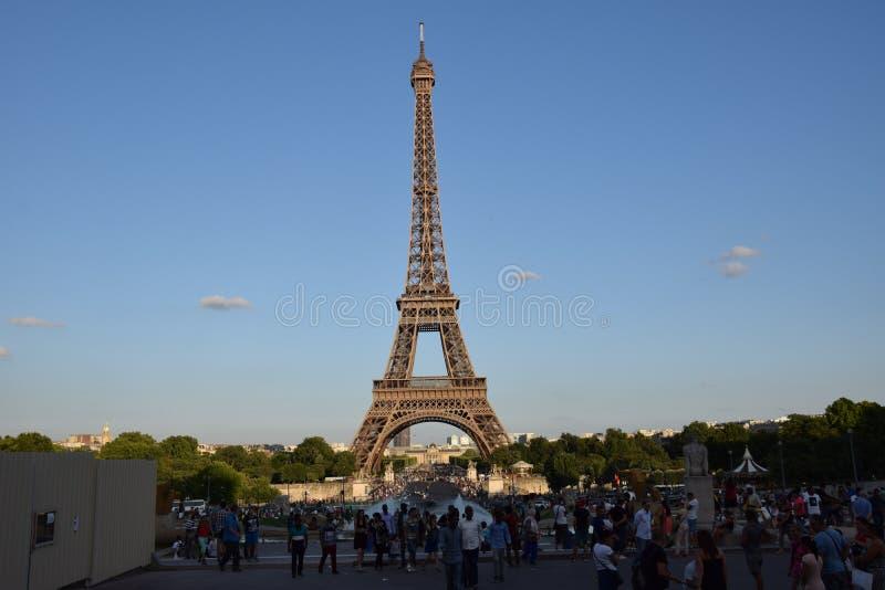 Paris, excursion Eiffel images libres de droits