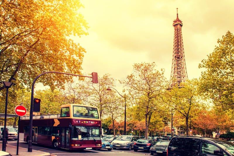 Paris fall season royalty free stock photos