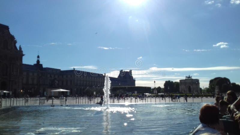 Paris, fontanna obraz royalty free