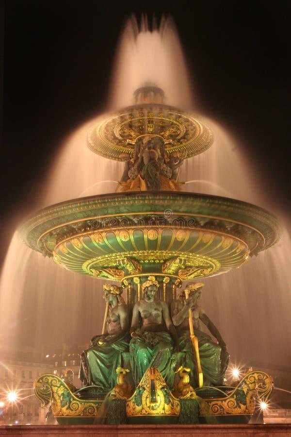 Paris, fontanna obrazy royalty free