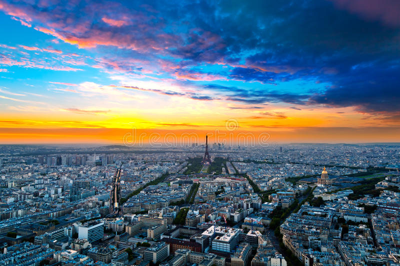 Download Paris, France stock image. Image of colorful, copyspace - 16947885