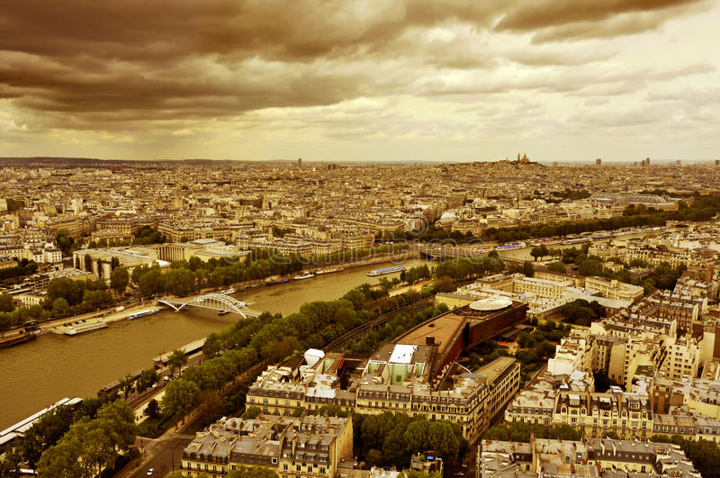 Download Paris, France editorial stock image. Image of aerial - 31615194