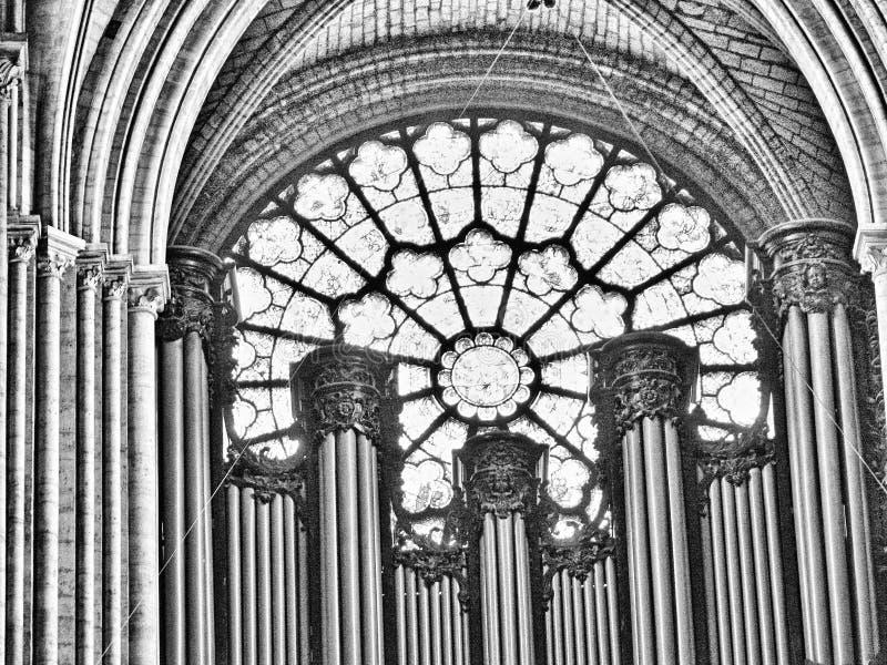 Paris, France 11/04/2007 Cath?drale de Notre Dame photo libre de droits
