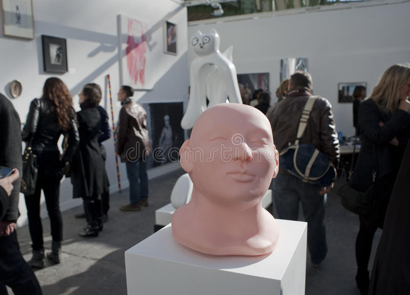 Download Paris, France, Contemporary Arts Exhibit, FIAC, Gr Editorial Stock Photo - Image: 16598558