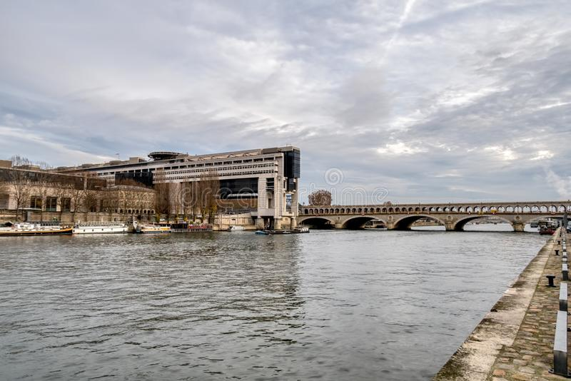 French ministry of finance in Bercy - Paris, France stock photos