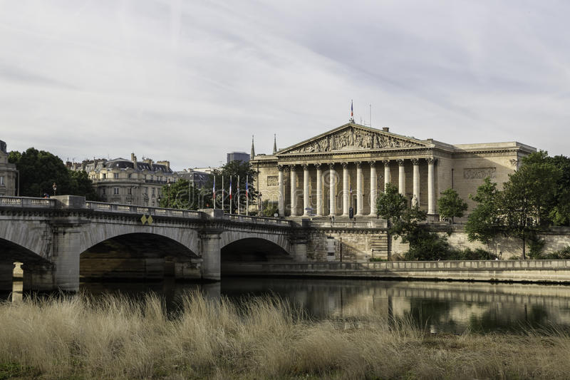 Paris, France - The embankment of Paris royalty free stock images