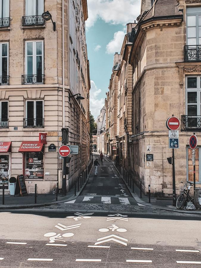 Paris, France, June 2019: Streets of Paris stock images