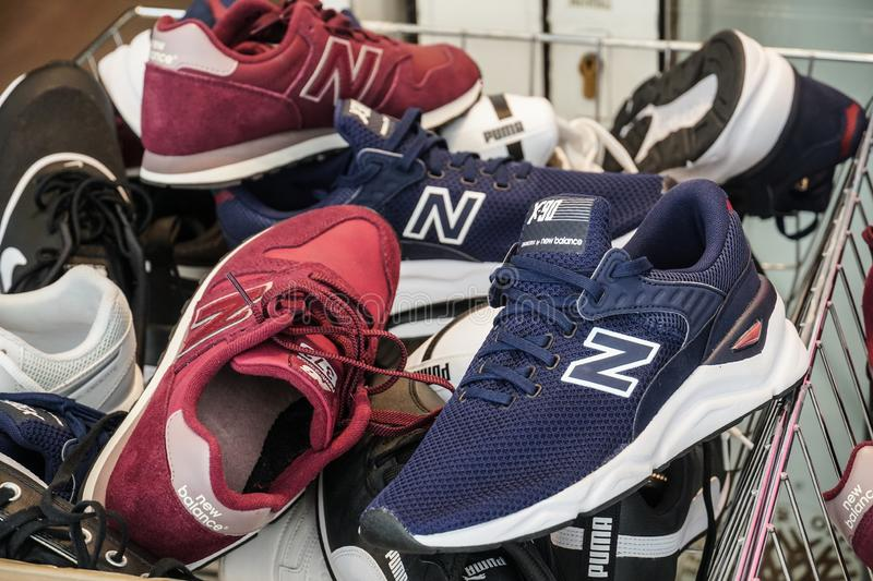 New Balance running shoes editorial